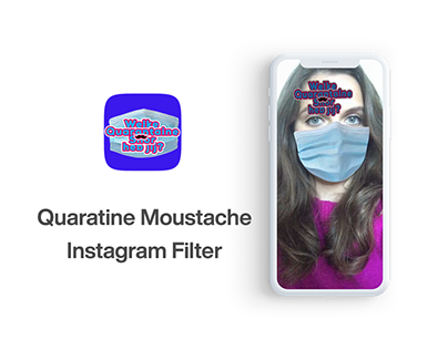 Covid-19 Moustache Filter