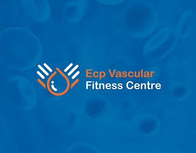 ECP Vascular Fitness Centre Logo Design