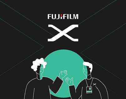 Fujifilm Xseries - Website design / Front-end