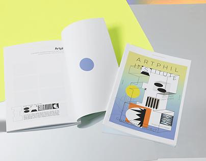 Artphil Institute collaborative project book design