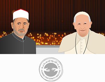human fraternity meeting Al-Azhar and vatican