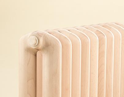 Ventura Lambrate 2015 Wooden radiator