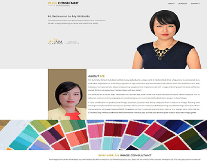 Static Website for Image Consultant