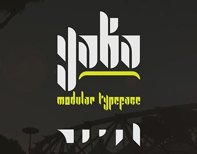 Yaka | Modular typeface