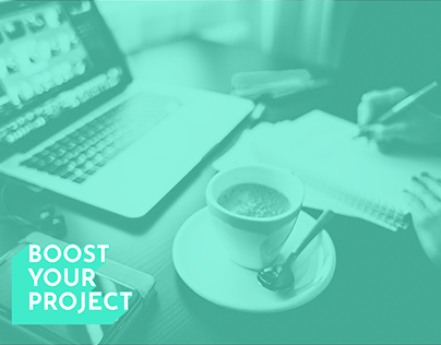 Boost Your Project - Logo, Webdesign, Template