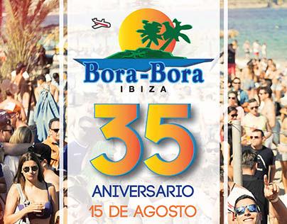 Anuncio Bora Bora 35 Aniversario