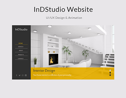 InDStudio Website