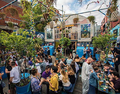 Street Food Markets in London for Stern magazin