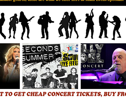 cheapest concert tickets