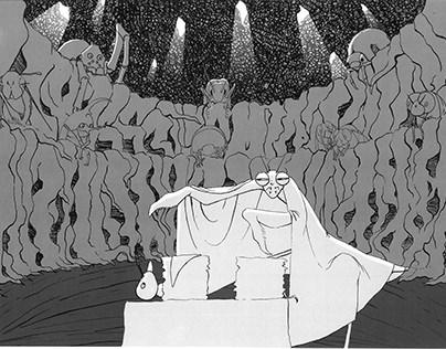 Proyecto Ilustrado - El circo del bosque