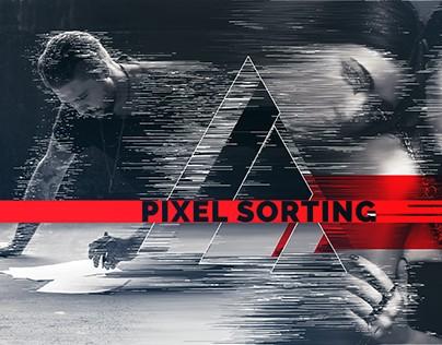 Pixel Sorting Slideshow 4K