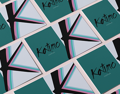 "postcards for clothing brand ""Katimo"", based in Kyiv"