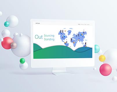Infolks Outsourcing Website Design