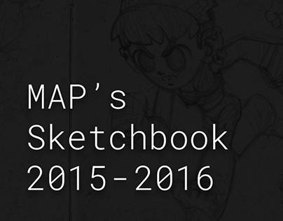 Sketchbook 2015 -2016