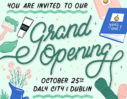 JOANN Fabrics: Grand Opening Digital Illustration