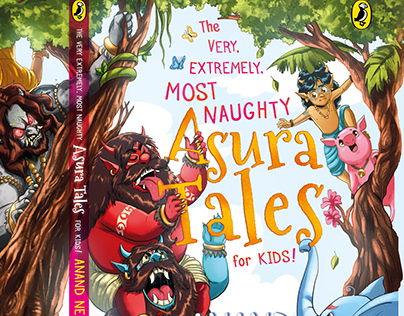 The Most Naughty ASURA TALES by Anand Neelakantan