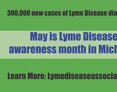 Billboard design for Lyme Disease Awareness