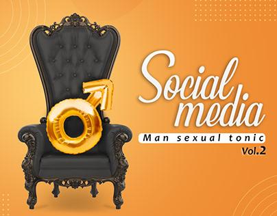 Man sexual tonic social media Vol.2