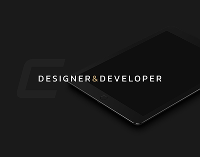 CIROCKI.PL - designer and developer personal portfolio