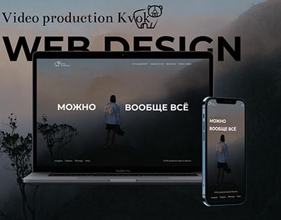 Video production web design