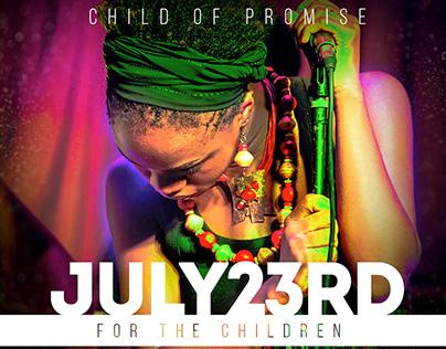 #ForTheChildren Concert 2016 Promo Artwork