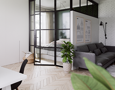SCANDI STYLE APARTMENT