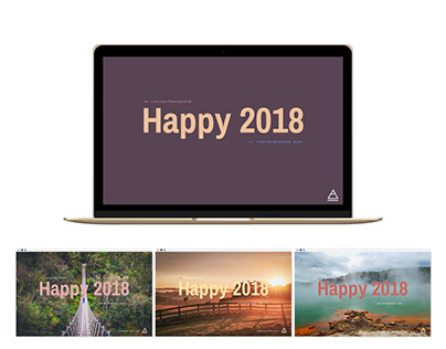 Happy 2018 from DoubleCat
