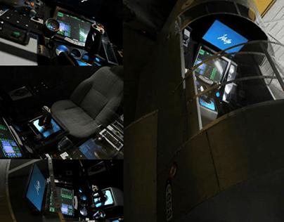 Flight simulator - HV-01