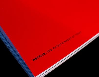 Book Design | Netflix 2015 Annual Report