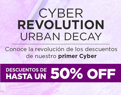 RRSS Urban Decay Cyber Revolution