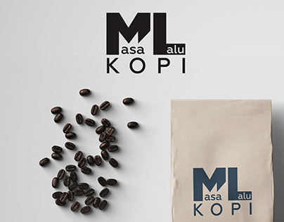 ML Kopi Logo Design