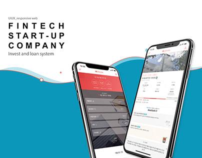 FINTECH START-UP COMPANY UIUX DESIGN