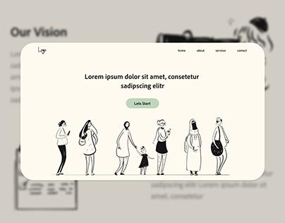 Landing Page UI Design