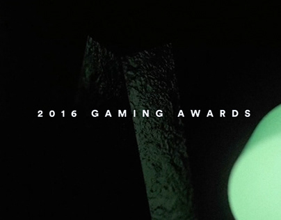 2016 Gaming Awards Branding