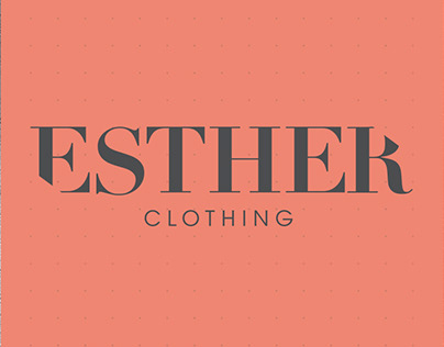 Visual Identity for Esther Clothing