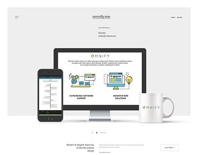 Website design for Omnify
