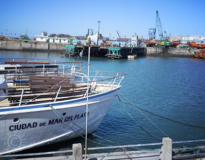 Images of the Port of Mar del Plata II