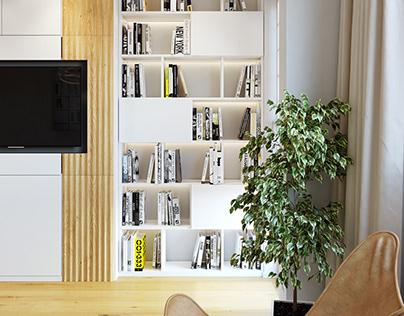 50's Apartment Into Minimalism