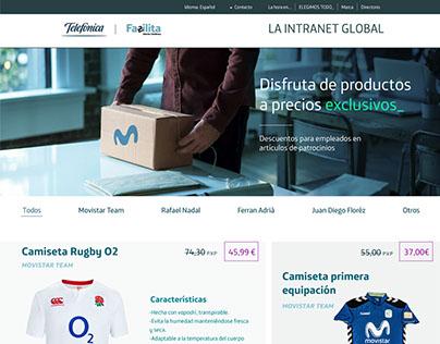 Telefónica's catalog