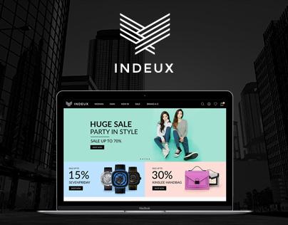 Indeux - Fashion Template Website
