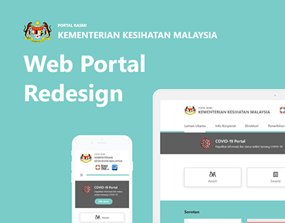 Ministry of Health Malaysia Web Redesign