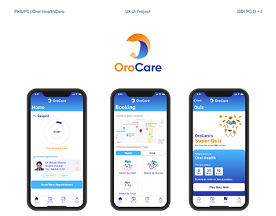 OroCare - Oral Health App for Booking and Learning