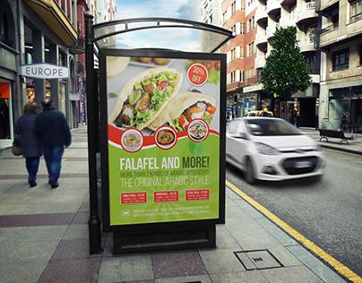 Restaurant Poster Template Vol.13