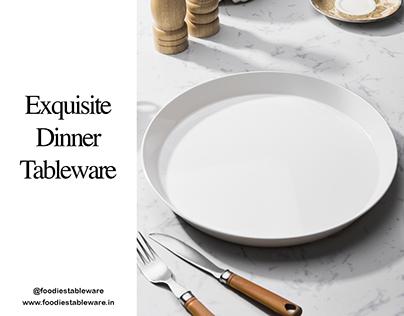 Foodies Tableware - Product Showcase