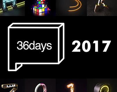 36 Days of Type 2017