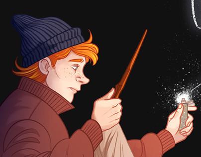 Character design challenge: Harry Potter