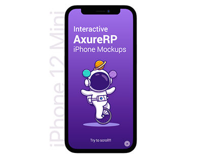 Axure RP - iPhone 12 Interactive Library