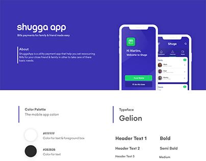 Shuga Mobile App UX Design
