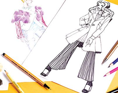 Fashion Illustration Handout