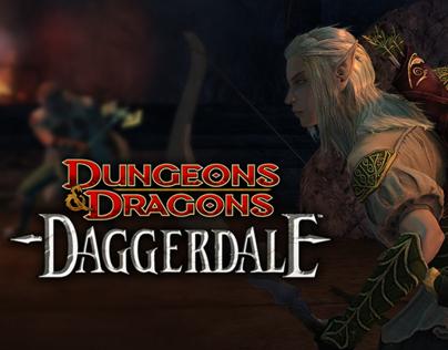 Dungeons & Dragons: Daggerdale | Graphic Design